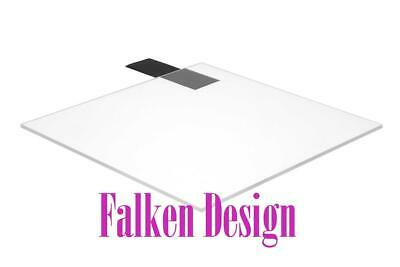 "Falken Design Acrylic Plexiglass Sheet Clear 12x12x1//2/"" FREE CUT TO SIZE"
