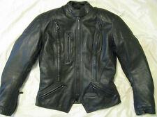 Harley Davidson FXRG Motorcycle Leather Jacket Armor Waterproof Womens S 4 - 6