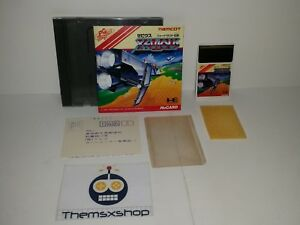 67-134-NEC-PC-ENGINE-HU-CARD-HUCARD-TURBOGRAFX-XEVIOUS-COMPLETE-REG-CARD
