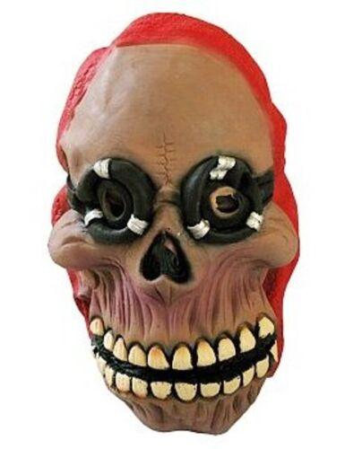 Skelett mit Brille Maske Halloween 6975