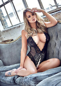 Image Is Loading Rhian Sugden Poster Calendar New 2018 Sexy Uk