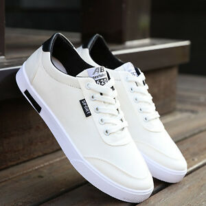 Fashion-Men-039-s-Classic-Canvas-Sport-Shoes-Sneakers-Recreational-Casual-Shoes-New