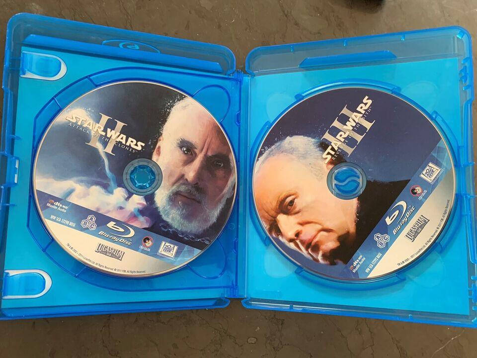 Star wars, Blu-ray, familiefilm