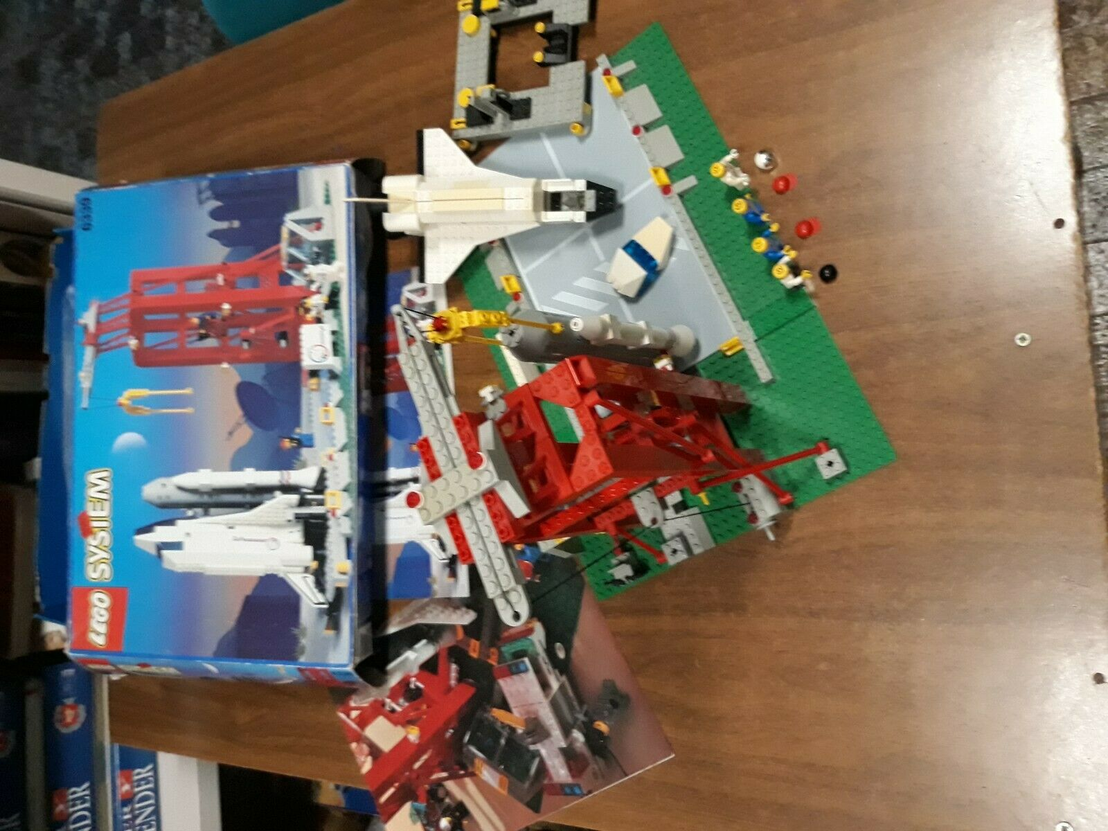 LEGO SYSTEM SET 6339 NAVE Y ESTACION ESPACIAL