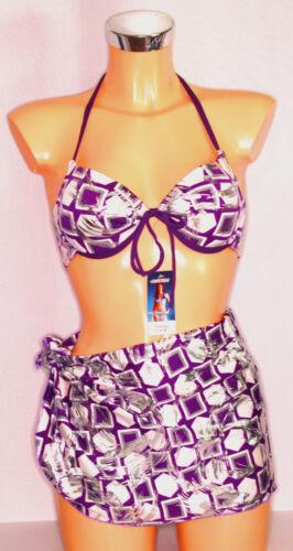 "Pareo Bademode verschiedene Farben 38,40,42,44,46,M,L,XL neu /""Bixtra/"" Bikini"