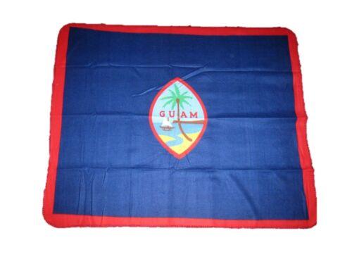 New Guam Flag 50x60 Polar Fleece Blanket Throw Super Soft Plush