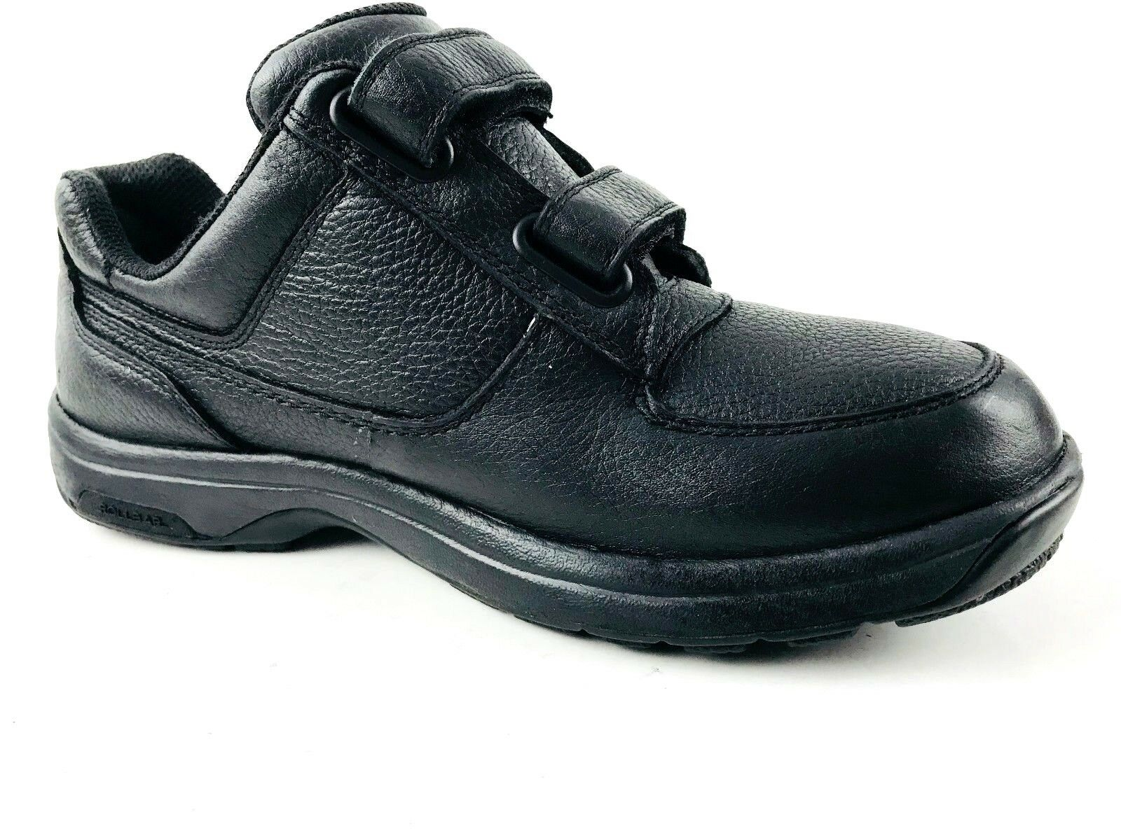 Dunham Winslow Oxford Velcro Oxford Leather Black shoes Size US.8 UK.41 EU.7.5
