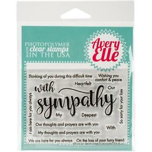Avery-Elle-Clear-Stamp-and-Die-Set-WITH-SYMPATHY-Thoughts-Prayers-Comfort-Peace