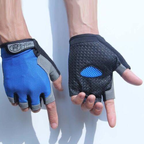 Road MTB Bicycle Cycling Half Finger GEL Gloves Road BMX Bike Riding Fingerless