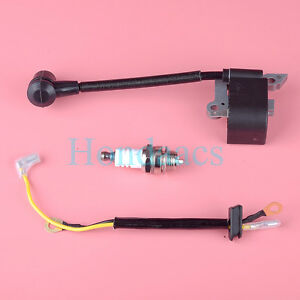 Details about Ignition Coil Spark Plug for Husqvarna 136 137 141 23 235 240  26 36 41 Chainsaw