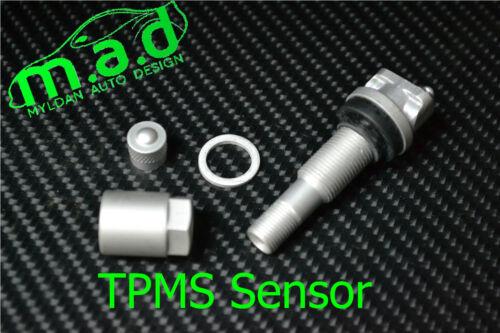 4 x Peugeot Sensore di pressione pneumatici Kit Riparazione Valvola Di 207 307 407 508 607 807 TPMS