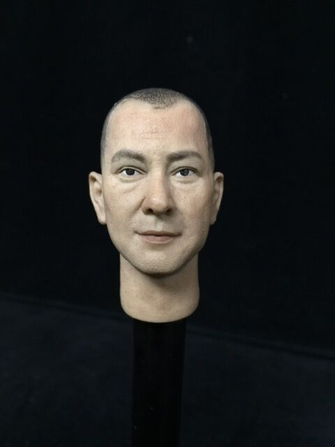 1 6 Toy Head Sculpt Fit 12  figure Anthony Wong as Ip Man in The Final Fight