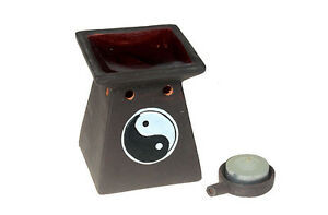 Yin-Yang-Duftoellampe-Duftlampe-Aromalampe-Keramik-mit-Teelicht-Duftstoevchen