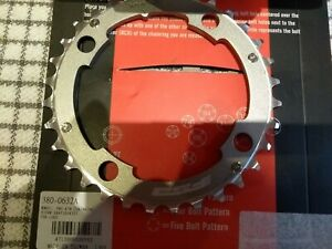 FSA Afterburner Pro 10 Speed Middle Chainring Silver 32T 104mm PCD