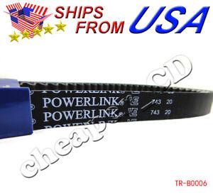 Gates-Powerlink-743-20-30-CVT-Drive-Belt-GY6-125cc-150cc-152QMI-157QMJ-Scooter