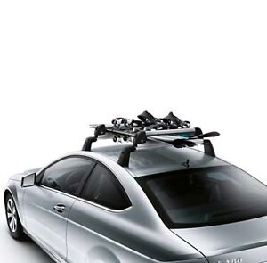 genuine mercedes benz standard ski and snowboard rack ebay