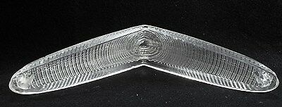 ORIGINAL OEM 1956 FORD FPT-56 FoMoCo CLEAR FRONT TURN SIGNAL PARKING LIGHT LENS