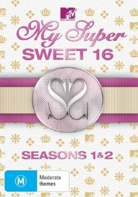 My Super Sweet 16: Seasons 1 and 2 (DVD, 2008, 2-Disc Set)