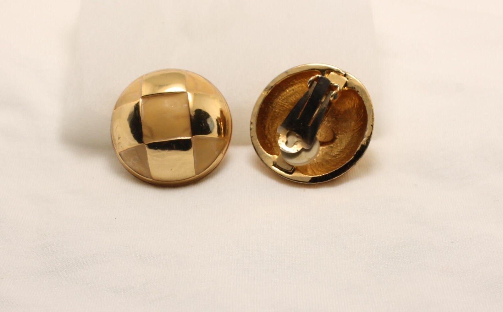 Vintage Lanvin Paris Clip on Earrings - image 2