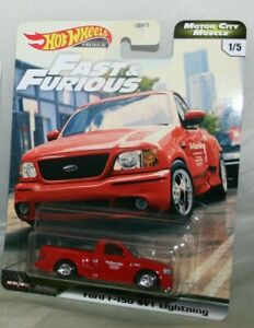 (1) FORD F150 SVT LIGHTNING Truck 2020 Hot Wheels Fast ...