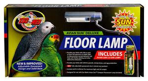 Zoo Med Aviansun Deluxe Floor Lamp With Bulb 97612346114