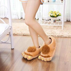 Pantofole-pelose-da-uomo-con-piedi-grandi-Novita-Pantofole-da-donna-Hobbit