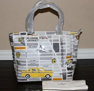 Kate-Spade-Yellow-Taxi-Cab-New-York-City-Francis-Shoulder-Tote-Bag-Purse-NWT
