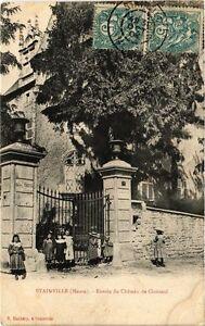 CPA Stainville - Entrée du Chateau de Choiseul   (240863)