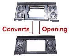 2006-07 Jeep Commander Radio Double Din Dash Install Kit Bezel w/ Wiring Harness