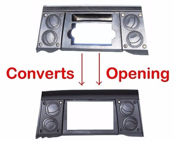Radio Double Din Dash Install Kit Bezel Wire Harness Fits 2006-07 Jeep Commander