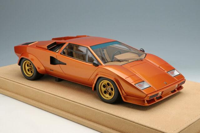 MakeUp IDEA IM027F 1:18 Lamborghini Countach LP400S 1978 Orange