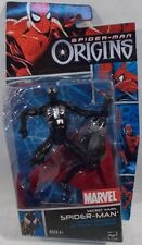 Spider-Man Origins - Secret Wars Black Suit Spider-Man Hasbro With Glider (MOC)