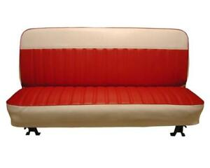 Chevy-GMC-Pickup-Seat-Upholstery-with-White-Accents-for-Front-Bench-1960-1966