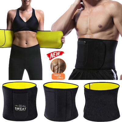 Women Men Yoga Slim Fit Waist Trainer Neoprene Belt Wrap Fat Burner Body Shaper Ebay Body fat percentage chart for men and women that ranges from ideal to overweight based on age and gender. women men yoga slim fit waist trainer neoprene belt wrap fat burner body shaper ebay