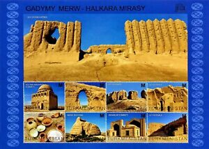 Postage-Stamps-Turkmenistan-Monuments-of-Architecture-Collectible-Exclusive-7