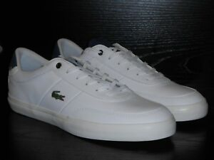 51000398269bd0 Lacoste Court-Master 4171FLE CAM WHITE NAVY OFF WHITE SIZE 9 RRP £80 ...