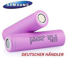 Samsung ICR 18650-26H ( ICR18650-26F )  3,7V Li-Ion LiNiMnCoO2 2600 mAh 100%Org