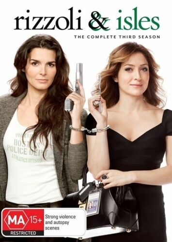 1 of 1 - Rizzoli & Isles : Season 3 (DVD, 2013, 3-Disc Set) New, ExRetail Stock (D148)