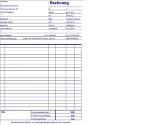 Profi Pc Rechnung Rechnungsprogramm Mit Protokoll Excel Ebay