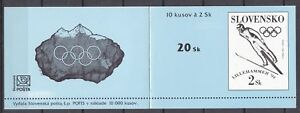 SLOVAKIA-1994-MNH-SC-176-BOOKLET-of-10-stamp