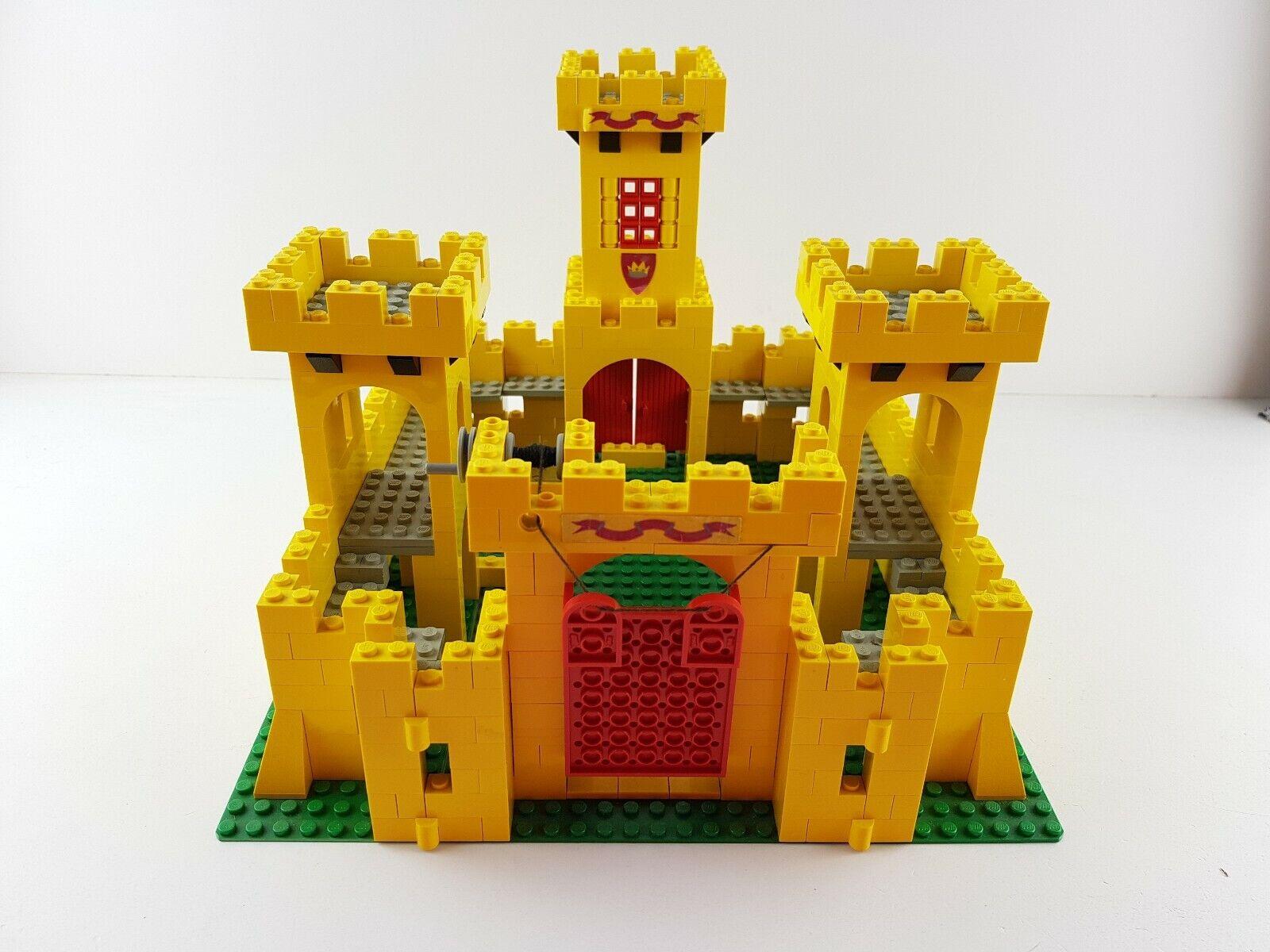Lego® Ritter Burg 375 Castle Classic unvollständig Ritterburg gelb yellob