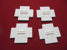 """GERRY ANDERSON SPACE 1999  44""""  44 INCH   EAGLE TRANSPORTER  SET OF  4 POD FEET"""