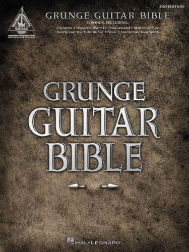 Grunge Guitar Bible 2nd Edition Sheet Music Guitar Tablature Book NEW 000690649