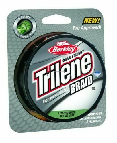 Berkley Trilene Braid 20lb//6 150yd Filler Spool Moss Green TBFS20-22