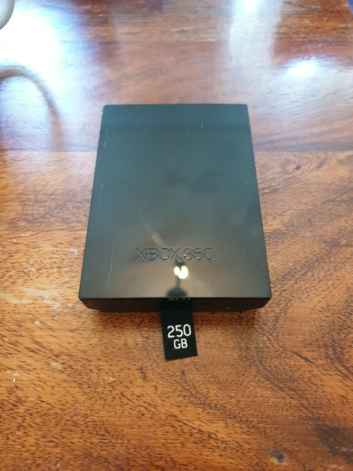 OFFICIAL XBOX 360 SLIM 250GB BLACK HARD DRIVE ORIGINAL Model 1451 *free post*