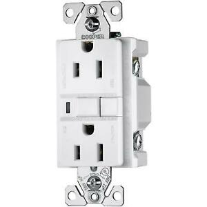 cooper wiring devices 15 amp white decorator gfci electrical outlet Cooper Lighting Wiring Diagram cooper wiring devices 15 amp white decorator gfci electrical outlet vgf15wml