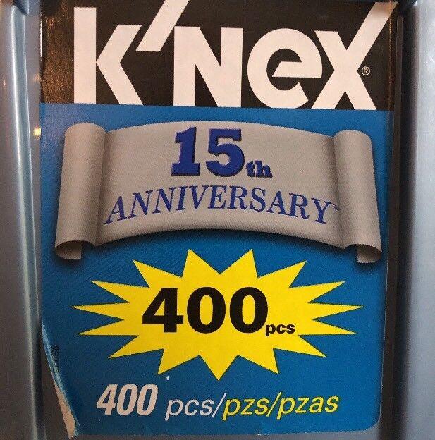 Rare 2008 K'nex 15th Anniversary Set with Storage Tub and Extras Job Lot Bundle