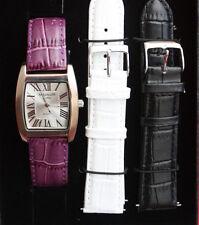 Magnum/Armbanduhr/Ladis/3 Farben Armbänder austauschbar/Geschenkbox/ Quarz/ OVP