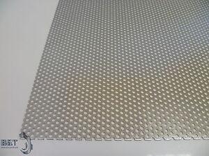 Lochblech Aluminium RV3-5 RV5-8 in 1mm 2mm ✔️Blechstreifen Platte Zuschnitt