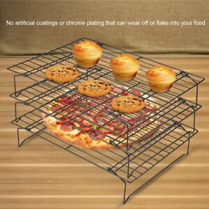 3Tier-1Tier-Steel-Baking-Cooling-Rack-Kitchen-Folding-Stackable-Quick-Cooling